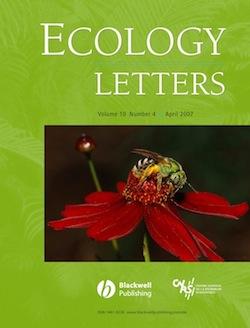 KremenEtAl2007_EcologyLetters_cover