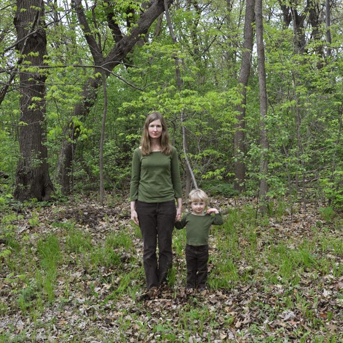tree with sapling